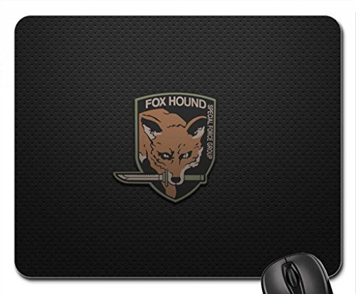 MGS Fox Hound Mouse Pad, Mousepad (10.2 x 8.3 x 0.12 inches) (Mgs Pc)