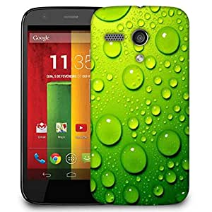Snoogg Drops On Phone Case Cover For Motorola G / Moto G