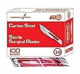 Surgeon Blades,Blade No.10 (pack of 100)