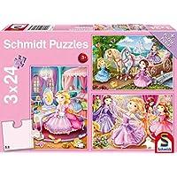 Schmidt Fairy Tale Princesses Jigsaw Puzzle Set (3 x 24-Piece)