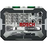 Bosch 26tlg. Schrauberbit- und Ratschen-Set