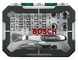 Bosch 2607017331 Set con 26 Unidades para atornillar, Incluye Puntas,...