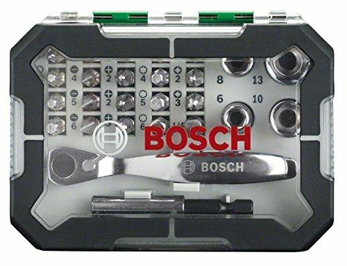 Newsbenessere.com 51WbWS35D6L Bosch 2607017322 Rainbow Evo Set Avvitamento con Cricchetto 26 Pezzi