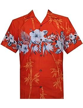 Alvish -  Camicia Casual  -  Vestito modellante  - Maniche corte  - Uomo