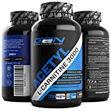 Acetyl L-Carnitin 3000-250 Tabletten - 3000 mg pro Tagesportion - Extra Stark - 100% Acetyl...