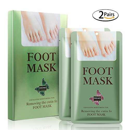 Baby Feet Foot Peel Socks, Inofia Exfoliating Foot Peeling Mask for Dry Dead Skin, Babyfoot Deep Exfoliation for Feet Peel Callus Remover Dead Skin Remover(2PAIRS)