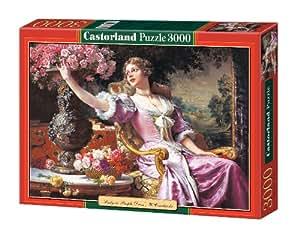 Castorland - Puzzle 3000 pièces - Czachorski : La femme à la robe pourpre