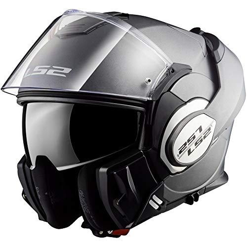 LS2 ff399Valiant-Caschi moto Casco Matt Titan