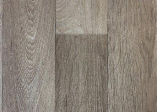 PVC-Boden Paneele in Schiffsboden-Optik Grau mit Schaumrücken | Muster | Vinylboden versch. Längen | Fußbodenheizung geeignet | PVC Platten strapazierfähig & pflegeleicht | robuster Fußboden-Belag | Hergestellt in Belgien