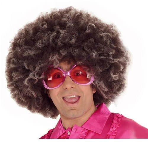 Perücke Super-Afro Jimmy, braun-blond meliert