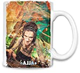 Clubbing Designs Ajja Magie - Ajja Magic Unique Coffee Mug | 11Oz Ceramic Cup| The Best Way to Surprise Everyone On Your Special Day| Custom Mugs by