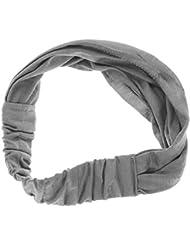 well-goal New femmes de foulard bandana Bandeau élastique de chapeau multifonction