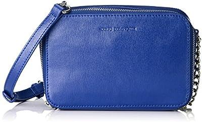 Adolfo Domínguez - Bolso pequeños al hombro para mujer, color azul