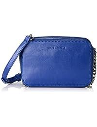 Adolfo Dominguez - Bolso pequeños al hombro para mujer, color azul