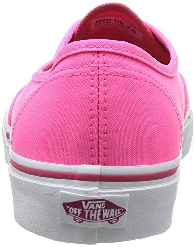 Vans U Authentic, Scarpe da ginnastica Unisex - adulto Rosa (Neon Pink)