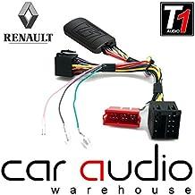 T1Audio t1-rn7Renault Clio, RENAULT MEGANE, RENAULT SCENIC, RENAULT WIND, RENAULT LAGUNA, RENAULT TRAFIC, RENAULT FLUENCE coche volante adaptador de interfaz de control con libre Patch plomo