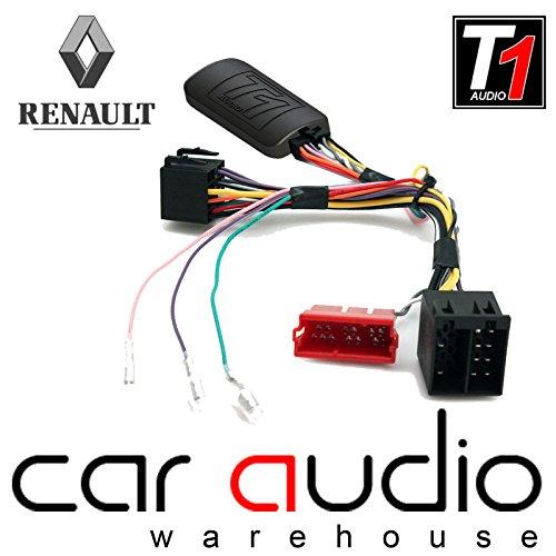 Adaptador interfaz control mando volante coche cable