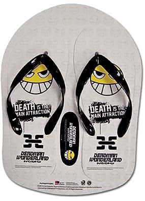 Deadman Wonderland Smile Face Chaussons - 28 cm