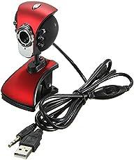 HITSAN INCORPORATION USB 50M 6 LED Night Vision Webcam Camera Webcams with Mic PC Laptop