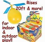 Ouken Kids Ballon Helikopter Flugzeug Ballon betriebene Helikopter fliegen Spielzeug für Kinder-Tag Geschenk-Party