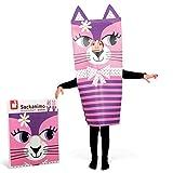 Janod - Sackanimo, disfraz de gato en cartón (J02859)