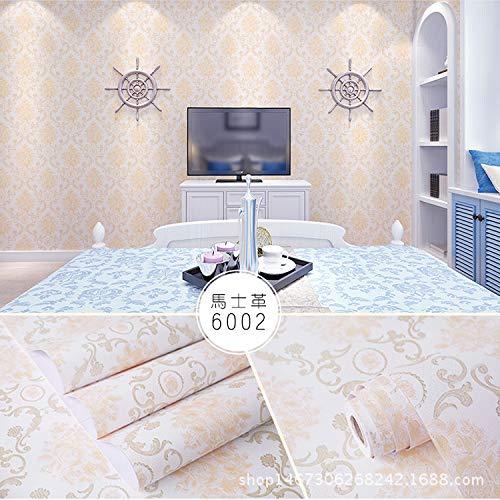 lsaiyy Ländlichen Stil wasserdichte Wand Tapete Selbstklebende Tapete Schlafsaal Schlafzimmer Selbstklebende Tapete Tapete-45CMX10M