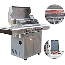 DMS multifunzione barbecue a Gas 2Bruciatori a infrarossi & girarrosto, barbecue bc411cbd