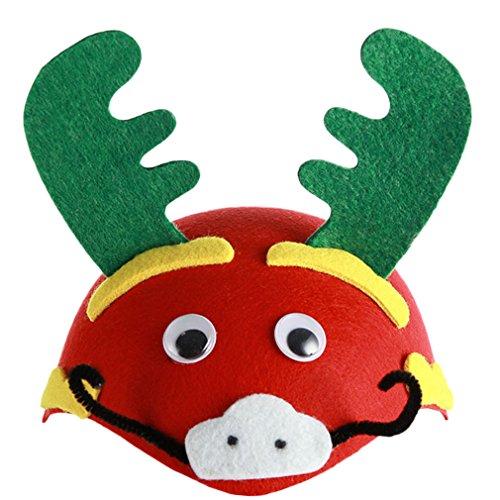 Hüte Kostüm Drachen - EOZY Halloween Kinder Tiermütze Cartoon Hut Party Kostüm Drache