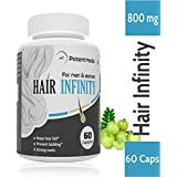 Potentveda Hair Infinity - 6 Herbs Nourishment Roots Growth Formula For Men & Women - 60 Capsules (Pack 1)