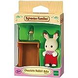 Sylvanian Families 5062 Chocolate Rabbit Baby, Multicolor