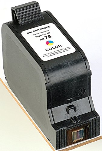iColor Odixion Digistation 2000: Recycled Cartridge für HP (ersetzt C6578A No.78), Color HC (Odixion Digiprinter DP 100) ()