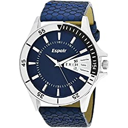 Espoir Analogue Blue Dial Men'S Watch- Yes0507
