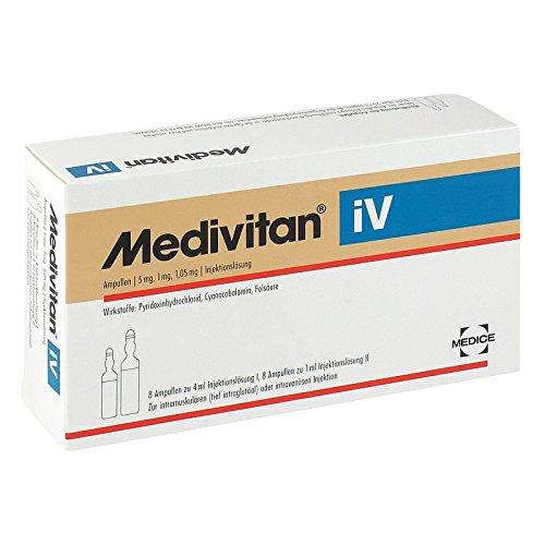 Medivitan iV Injektionslö 8 stk -