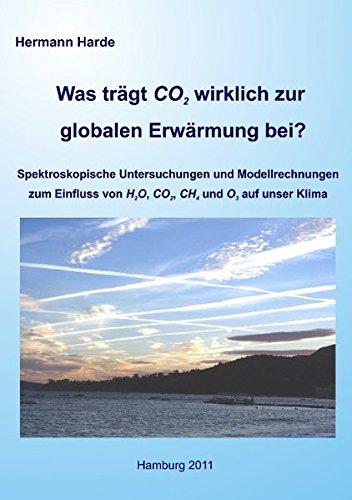 Was trägt CO2 wirklich zur globalen Erwärmung bei?: Spektroskopische Untersuchungen und Modellrechnungen zum Einfluss von H2O, CO2, CH4 und O3 auf unser Klima