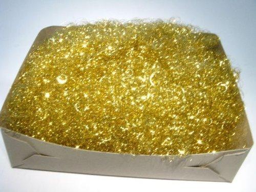 Lametta Engelshaar gelockt 250 Gramm Gold