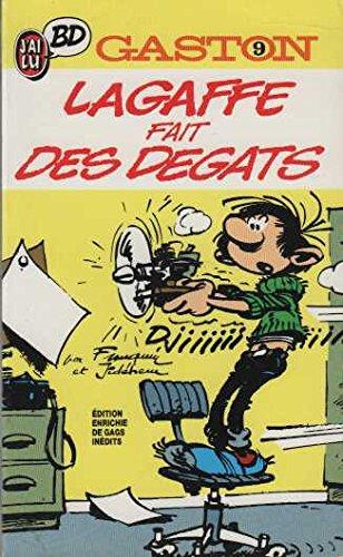 GASTON . LAGAFFE FAIT DES DEGATS