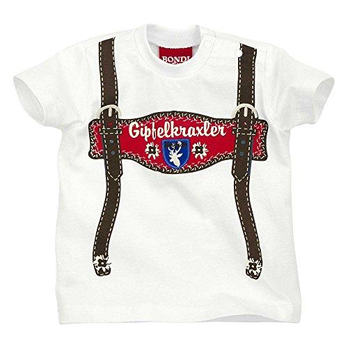 Bondi-Dress T-Shirt Single-Jersey weiß/braun Größe 110