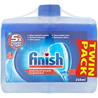 Finish Dishwasher Cleaner Dual Action Twin Pack (2 x 250 ml)