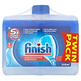 Best Dishwasher Detergents - Finish Dishwasher Cleaner Twin Pack, 2 x 250ml Review