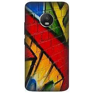 Motorola Moto G5 Plus Graffiti Printed Hard Polycarbonate Designer Back Case Cover by Mobi Elite