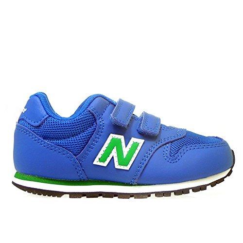 New Balance 500 Scarpe Sneaker Bambino Blu Verde KV500YUI-BLUE/GREEN
