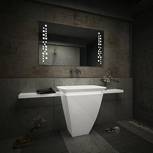 Badezimmer Spiegel – Design Badspiegel mit LED Beleuchtung - 4