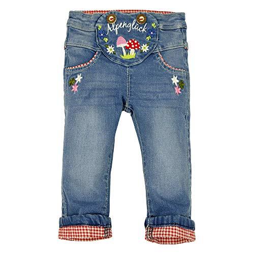 BONDI Baby Mädchen Trachten-Jeans Artnr. 86016 Größe 92