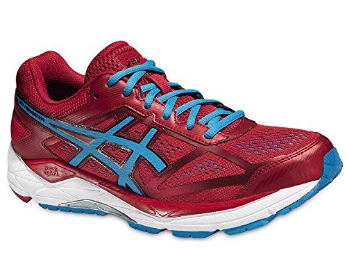 Asics Gel-foundation 12, Chaussures de Running Compétition homme Rot (racing Red/methyl Blue/black 2342)