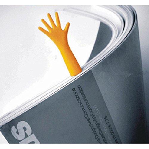 EQLEF® 4 piezas de la novedad creativa Ayuda colorido Me Marcadores Pista de nota de la novedad de la marca de libro