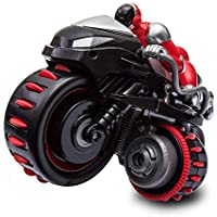 Markc Eléctrica de Radio control de la motocicleta de los niños pueden desplazarse Tumbling que cae rotación de 360 grados del truco de la motocicleta con la música adecuada for Multi-escena Operaci
