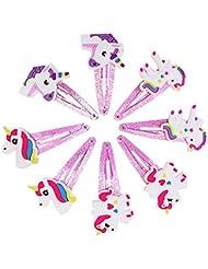 Cheveux Griffe Clip de Beito pour les filles Filles Unicorn Barrettes épingles à cheveux Barrettes
