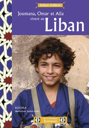 Joumana, Omar et Alia vivent au Liban | Kochka (1964-....). Auteur