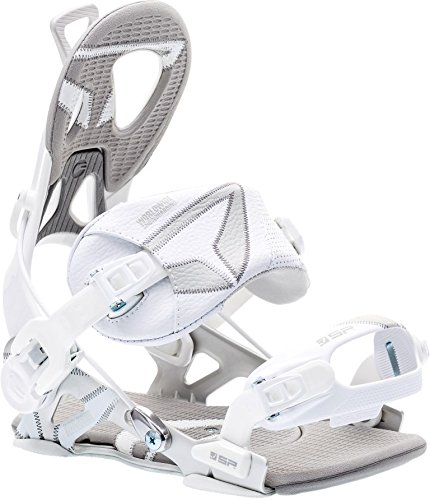 SP-United SP Core FT Snowboardbindung, White/Grey, M