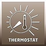 Einhell Heizlüfter KHO 1500 (1500 Watt, zuschaltbare Drehfunktion, 2 Heizstufen, Ventilatorbetrieb, PTC-Heizelement) -